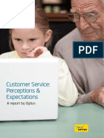 Customer Expectations Report