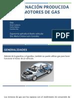 Contaminación Producida Por Motores de Gas