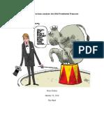 Editorial Cartoons Analysis