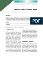 (2011) Photovoltaic Degradation Rates