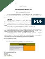 Edital Docentes Centro Universitário Metodista 249 2015 SELEÇÃO de DOCENTES