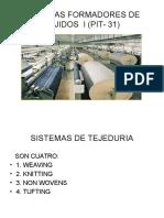 Sistemas Formadores de Tejidos i Pate 1 (Pit- 31)