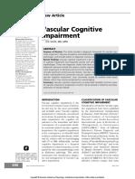Vascular Cognitive Impairment Continuum 2016
