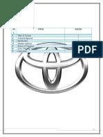 Relationship Marketing Toyota
