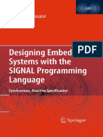 Abdoulaye Gamatie - Designing Embedded Systems With the SIGNAL Programming Language