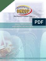 Registro Modificaciones Presupuestarias