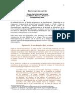 Escritura y Metacognicion Ruben Dario Hu