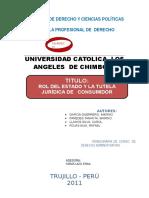 Monografia de Derecho Adminisrativo