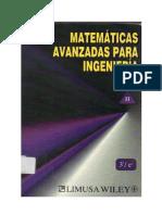 Matemáticas Avanzadas Para Ingeniería II - Erwin Kreyszig