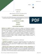 Derecho Del Bienestar Familiar [LEY_1620_2013]