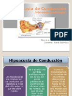 Hipoacusia de Conducción Diapos