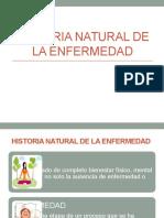 Historia Natural de La Enfermedad Exp.