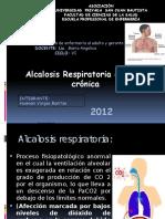 Alcalosis Respiratoria Agud y Cronica