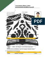 Format CV Sekolah Peduli Bencana UI