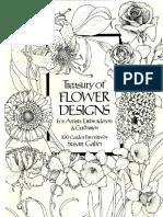 Treasury of Flower Designs