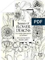 Treasury of Flower Designs
