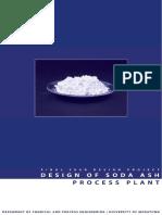 DESIGN of Sodium Carbonate PRODUCTION PLANT[Comprehensive Design Project]