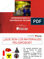 Introduccion a Los Materiales Peligrosos