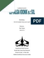 Case Neuro - Cephalgi Kronis e.c SOL