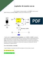Cálculo de un regulador de tensión con un LM317.pdf
