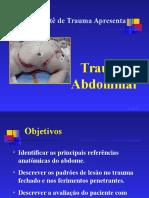 Trauma Abdominal Fisioterapia