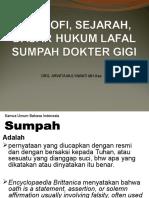 L6 SEJARAH &LAFAL SUMPAH DRG Des 2014.ppt
