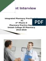 Patient Interview