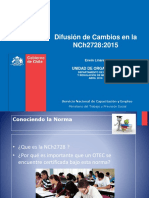 Cambios Nch 2728