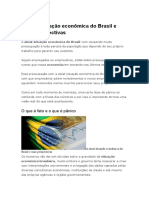 A Atual Situação Econômica Do Brasil