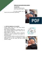 Maniobras de Palpacion de Higado, Vesicula Biliar y Estomago