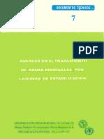 AVANCES EN EL TRATAMIENTO DE AGUAS RESIDUALES POR LAGUNAS DE ESTABILIZACIÓN Fabián Yanez.pdf