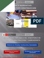 2. Marco Normativo Del Sector Construccion