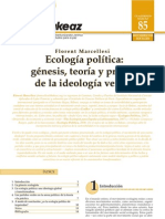 Ecología Política - Génesis, teoría y praxis de la ideología verde