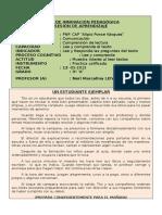 Lectura 3º A  13-05-2015