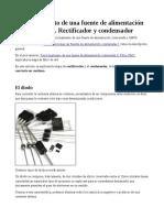 Funcionamiento de una fuente de alimentación conmutada III. Rectificador y condensador.pdf