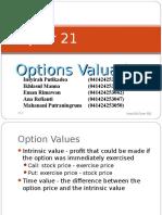 options valuation