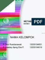 Review Biokimia Metabolisme