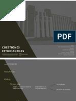 Arq.per.3 Cuestiones Estudiantiles
