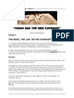 """The Book, the Law, the Covenant"""