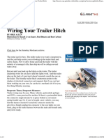 Popular Mechanics - Wiring Your Trailer Hitch