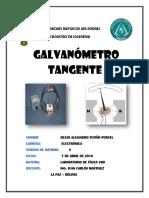 Lab 5 - Galvanómetro Tangente
