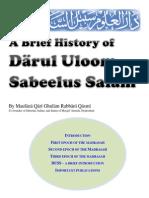 History of Darul Uloom Sabeelus Salam, Hyderabad, India