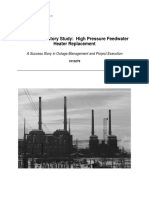 000000000001010279 EPRI Case History Study High Pressure Feedwater Heater Replacement