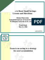 Sherraden Policy Presentation