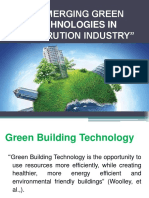 Emerging Green Building Technologies in Construction Industry- Level 1(2016)-Communication Principles