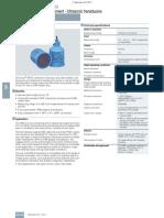 4.3 Ultrasonic XPS XRS Transducers