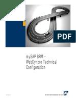 MySAP SRM WebDynpro Technical Configuration