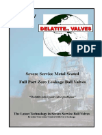 AMBV Ball Valve 150-600#