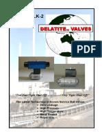 APV-LLK-2 Ball Valve Brochure