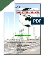 APV-LLK-3 Ball Valve in-Line Brochure